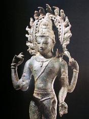 Bronze Avalokitesvara statue