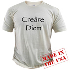 Creare Diem Organic Cotton T-shirt