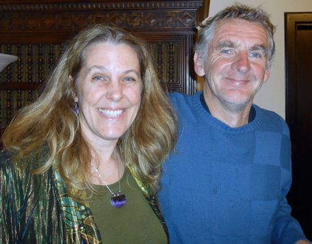 Cynthia Sue Larson and Seán Ó Nualláin
