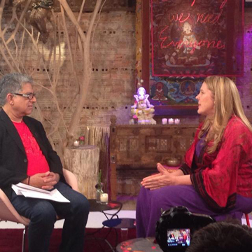 Cynthia Sue Larson and Dr. Deepak Chopra