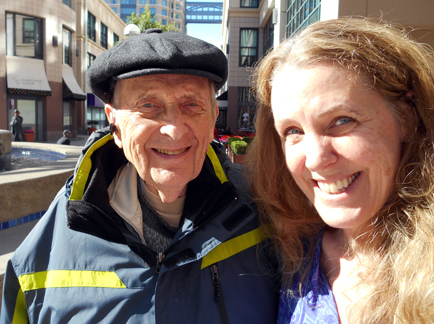 Cynthia Sue Larson and Dr. Stanley Krippner