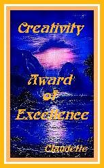 Creativity Award of Excellence
