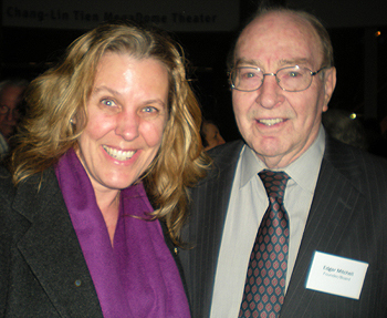 Cynthia Sue Larson and Edgar Mitchell