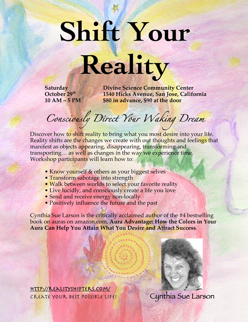 Shift Your Reality Workshop