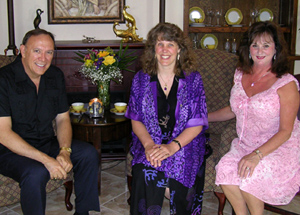 Cynthia and Steve and Barbara Rother